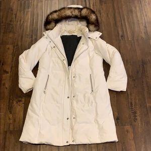 Michael Kors white winter jacket